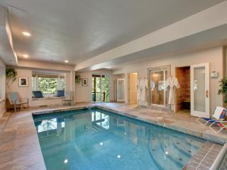 4200 sq ft, Indoor swimming pool, air-con, game rm, hot tub, sauna, steam room