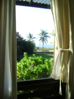 You have an ocean view from everywhere...actual bedroom window view.