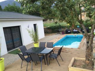 Villa T3 de charme avec piscine chauffée, Patrimonio