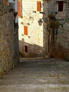 Centuries old stone streets