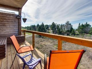 Luxurious, dog-friendly home with private hot tub - bird-watch from the deck!