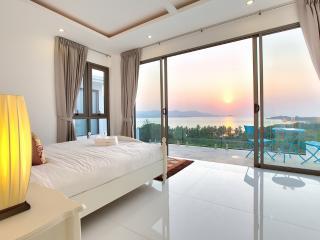 Samui grand sea view Villa Blue Bay (Sunset Sea View, 4 Bedrooms)