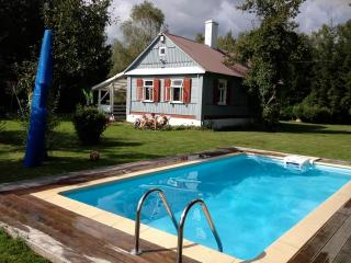 Country house with pool, Gołowierzchy, Poland