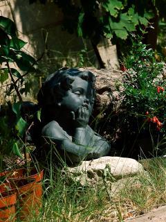 The Villa garden is full of surprises