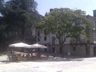 Apto.con balcón a 5 minutos de la Catedral, Santiago de Compostela