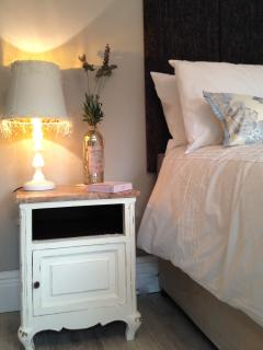 Beautifully designed bedrooms- king size beds, orthopaedic mattresses and  gorgeous French furniture