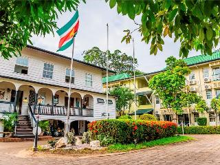 Luxurious and prestigious hotel in Suriname.