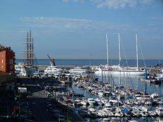 Grand Appartement de90 M2 situe sur le port de Nice tres ensoleille, face SUD