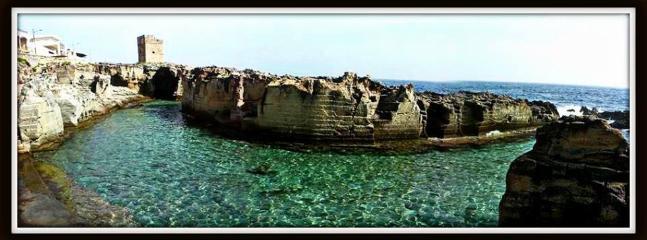 piscina naturale a Marina Serra
