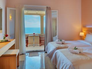 Corfu Modern Top floor Best Sea view Beach Apart