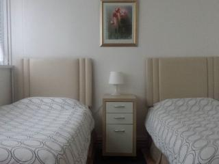 Lovely Spacious room Light and airy with twin beds