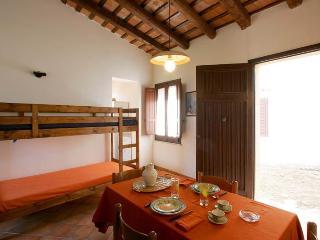 Cucina soggiorno con letto a castello