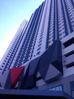 Building's exterior.