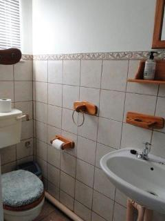 Our bathrooms: CLEAN & NEAT !!!