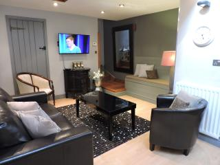 Lounge with flat screen Television
