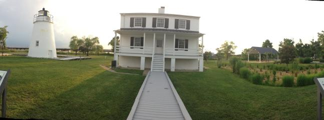 Historic Piney Point Lighthouse Park, with dock, party pavilion, and beach is 5 miles away.