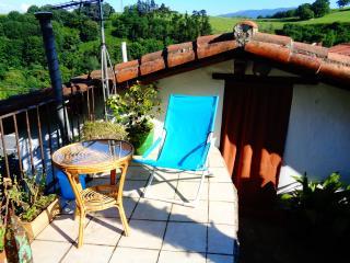 Apartamento con terraza en casa de campo, Zarautz