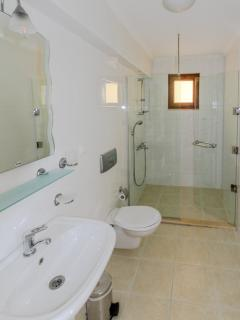 En-suite shower room on the First Floor - identical for both bedrooms