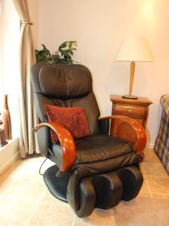 The massage chair... a guest favorite!!!