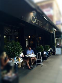Cote Brasserie - a great place to hang out!