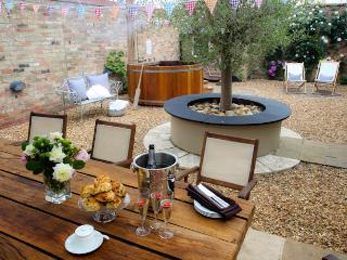 Celebrate in style, we'll hang up the bunting and fire up the hot tub!