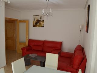 Apartamento libre de Wifi, 3 camas, aire acondicionado, piscina, Formentera Del Segura