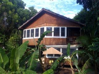 Tres Amigos Beach House,walk out back to the beach, Rincon