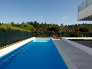 Modern apt. with swimming pool near to Nazaré