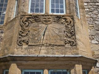 The Sundial Motto - 'Horas Non Numero Nisi Serenas' meaning 'I count only the hours that are serene'