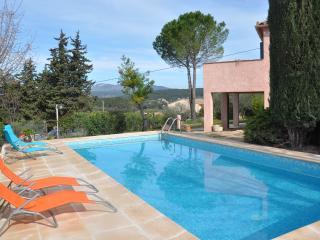 Villa provencale Provence verte, Carces