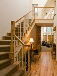 Entry - stairs to Master Suite