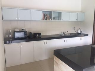 Kitchen -all fully equipped and brand  new units.