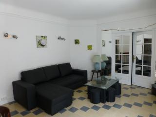 spacieux 3 pièces avec jardin à 150m de la plage, Cannes