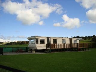 Tyddyn Bach Caravan on Anglesey, Dulas