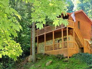 Large 2 bedroom Luxury Cabin Wears Valley, Pigeon Forge TN Close to town, Sevierville
