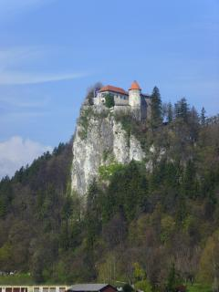 Bled Castle overlooking Lake Bled