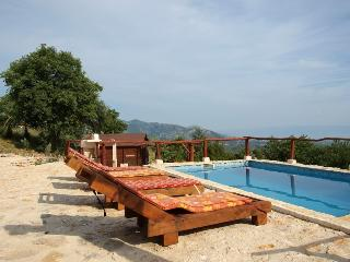 Summer Paradise with pool in hill, Solin