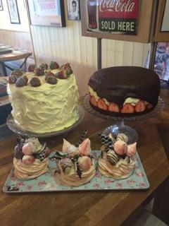 A sample of the delights you can indulge in at Tea on the Green in Westward Ho!