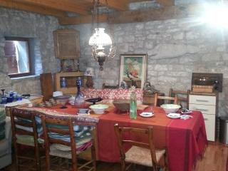 charming stone house with patio, views, Bale