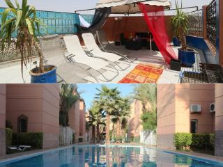 Appartement avec terrasse prive a marrakech