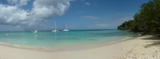 Here Marie-Galante, beautiful beaches...