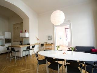 Spacious apt in Budapest center w/ 3 bedrooms, Boedapest