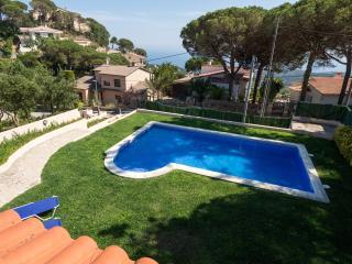 Villa with seaviews in Lloret de Mar, Costa Brava