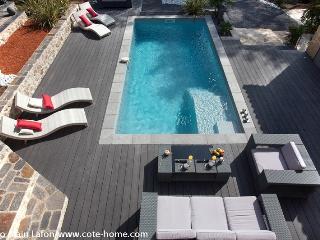 Superbe mas en pierres avec piscine, Saint-Clement-de-Riviere