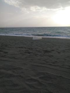 Evening View on Nocera Beach