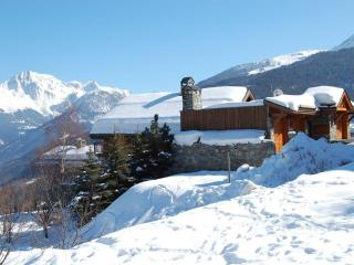 The last chalet in the Village, Meribel