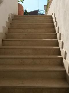 scala d ingresso