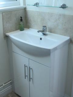 Heated towel rails in both bathrooms