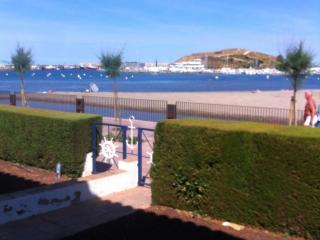 Precioso Apartamento Primera Linea de Mar, con terraza y jardín de 100m2