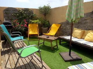 Le Solarium / location dans charmant village de potier, Saint-Guilhem-le-Desert